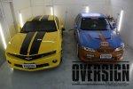 Camaro Amarelo para Camaro Preto Fosco adesivagem Líquida camaro OVRESIGN (20)