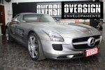Mercedes SLS, Mercedes SLS envelopada, SLS envelopada, SLS porta de gaivota, oversign (24)