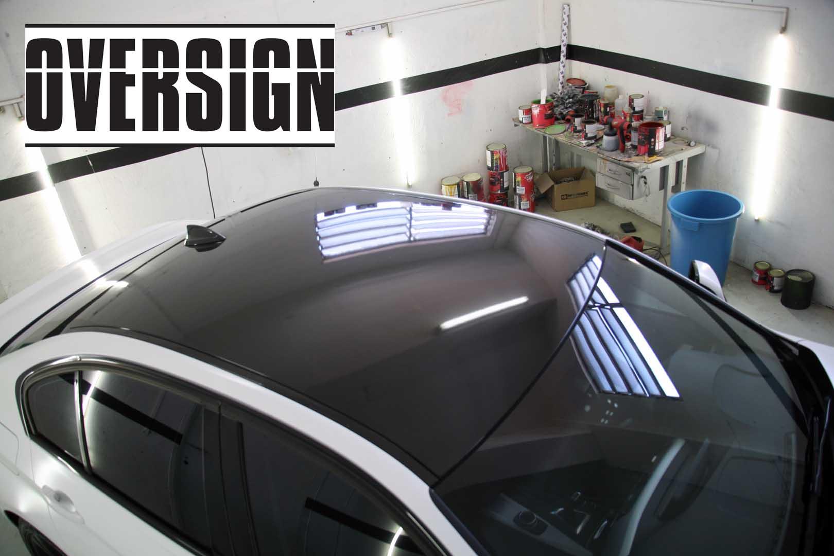 Teto Black Piano Para Carros Piano Black Roof For Cars