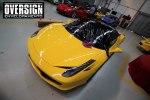 Ferrari F458, ferrari amarela, ferrari black piano, ferrari teto black piano, adesivo black piano, envelopamento de teto, adesivo teto, oversign, Ceramic pro, (8)